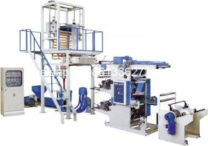 China High Speed Plastic Film Blowing Machine With Flexo Printing Press on sale