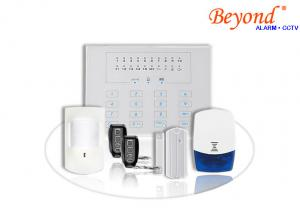 China LED Touch Keypad Wireless Intelligent GSM Alarm Systems on sale
