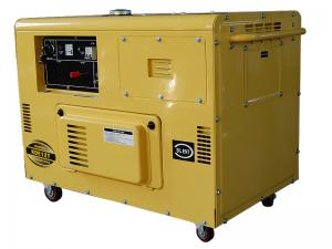 China Soundproof Small Diesel Generators , Residential Diesel Backup Generator on sale