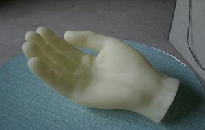 China White Somos14120 3d Plastic Printing Service , 3d Printing Prototype For Human Body Model on sale