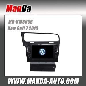 """China Volkswagen Golf 7 Android 4.2 car dvd player with 10.1"""" capacitive multi-touch screen Left hand drive auto stereo on sale"""