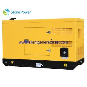China Standard Open Type 20kw Diesel Generator / 3 Pole Diesel Generator Set For Home on sale