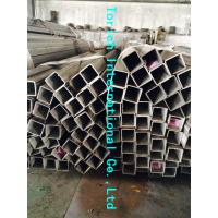 Rectangular Welded Steel Tube , ASTM A554 Welded Stainless Steel Mechanical Tubing