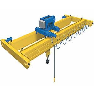 China Easy maintenance and safety double girder overhead crane on sale
