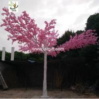 UVG CHR118 artificial pink flowering cherry trees for indoor theme decoration