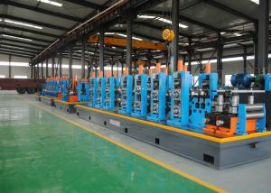 China CE / ISO Welded Pipe Making Machine Or ERW Tube Mill Line High Precision on sale