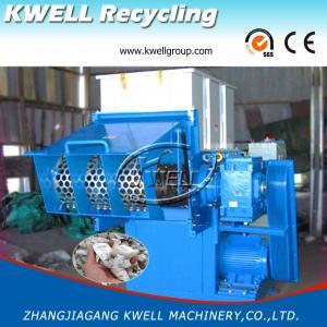 China PE Shredder//Plastic Grinder/Plastic/Wood/Paper Single Shaft Shredding Machine on sale