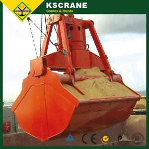 China Golden Quality Four Rope Mechanical Grab Bucket on sale