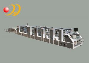 China Multifunctional Automatic Folder Gluer Machine High - Speed Carton on sale