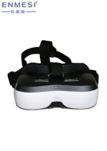 China Android 5.1 3D Smart Video Glasses For Teaching , 2 LCD Display Virtual Reality Glasses on sale