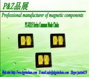 China PZ-EE15 Series Common Mode Choke supporting EDR Series high-frequency transformer on sale