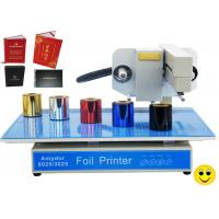 150w AMD-3025 Digital Hot Foil Printer , Foiling Machine For Cards / Certificates