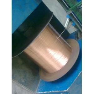 China Fil d'acier plaqué de cuivre de 40% SIGC 0.58mm, ASTM B452 on sale