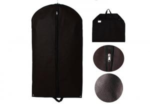 China Personalized Mothproof Suit Protector Garment Bag With Mental Eyehole Durable 420D on sale