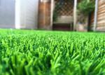Straight Curly Outdoor Artificial Turf Criteria Abrasion Resistant For Balcony