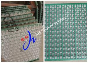 China Oilfield Shaker Screen DP600 DX API200 For Drilling Mud Solids Control on sale