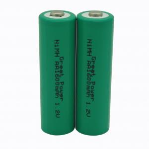 China 高い発電密度600mahのnimh AAA電池の再充電可能な1.2v電池 on sale