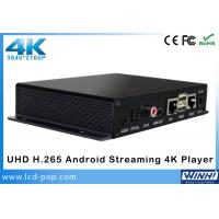 UHD 3840 × 2160p 4k Android Streaming Digital Signage Player Support Multi - Language
