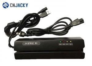 China 2 / 3 Tracks Magnetic Card Reader Writer , USB MSR Card Reader Writer on sale