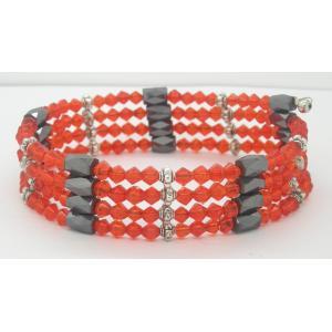 China Santé magnétique de bracelet de diverse de couleur hématite de taille ajustable de mode, bonne pour la santé on sale