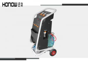 China Freon Car AC Automotive AC Recovery Machine , Refrigerant Charging Equipment Automatic on sale