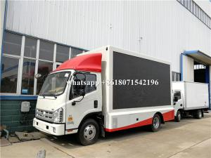 China Outdoor Full Color P4 P5 P6 Mobile Digital Billboard Truck Power Assistant Steering Gear on sale