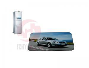 China Promotion, gifts, advertising Fridge magnetic CYMK, Pantone color Paper Sticker Printing on sale