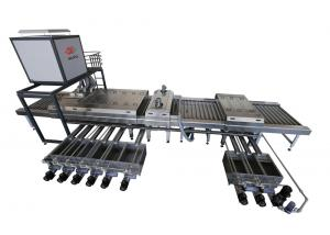China Flat Glass Washing Machines , Glass Washer For Tempered / Laminated Glass Production Line on sale