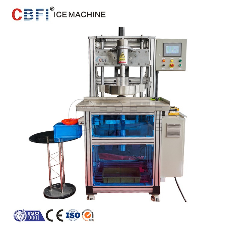 Automatic 100% Crystal Circle Ice Maker Fast Speed Easy