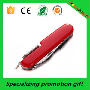 China Promotional Outdoor Folding Stainless Steel Utility Knife Pocket Swiss Knife on sale