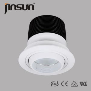China 45W 3500Lumens DALI Dimmable of 360 degree Adjustable Led Downlight With Lenses on sale