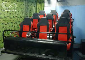 China Hydraulic Electric 7D Simulator Cinema / 5D Virtual Reality Theater on sale