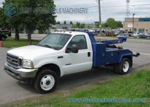 China FORD Medium Duty Wrecker Tow Truck With 9 Ton Boom And 6 Ton Wheel Llift on sale