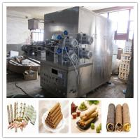 China tops sales egg roll making machine on sale