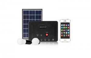 China 10W solar home system with inner Li battery on sale