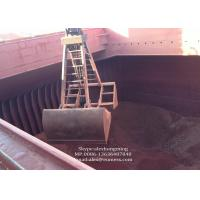 Mechanical Four Rope Clamshell Grab / Grapple Bucket For Iron Ore or Nickel Ore