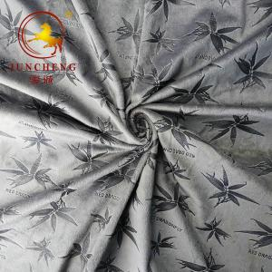 China 2020 winter embossed pattern velour for fashion apparel on sale