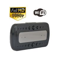 P2P Wifi Wireless Clock Spy Camera, Hidden Video Camera ,1080P IR Super Night Vision YM-W001