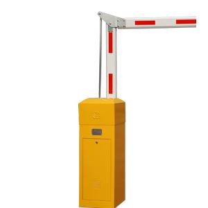 China Anti-bumping Fold Arm Parking Barrier Gate with Traffic Light Connector for Parking Lots on sale