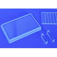China High Permeability Deep Ultraviolet Sterilization UVC Quartz Glass Substrate LED Application Quartz Wafer on sale