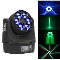 China MINI Led Moving Head Light 6x10w RGBW Bee Eyes 4 In1 Party Dj Disco Effect on sale