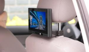 China wifi 3G bluetooth Android 4.2 OS with RAM 1G ROM 8GB car ads video player hang in the back seat on sale