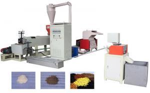China Cubra la máquina plástica de reciclaje plástica de la granulación de la máquina 15KW con el certificado del CE on sale