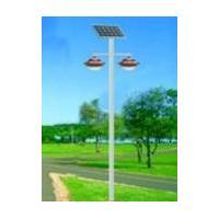 Dual LED solar garden Light
