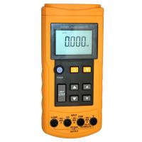 24 mA Loop Current Volt / mA Operable RTD Calibrator with Seven Types , YH-7009