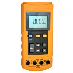 China 24 mA Loop Current Volt / mA Operable RTD Calibrator with Seven Types , YH-7009 on sale