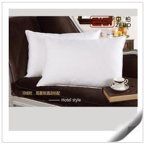 China 600 ~1000G 100% Duck Down Pillows 45 * 75CM Customize Size / Home Comfort Pillows on sale