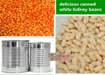 China Mixed Organic Canned Vegetables / White Kidney Beans In Can Of Tomato Sauce wholesale