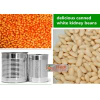 China Mixed Organic Canned Vegetables / White Kidney Beans In Can Of Tomato Sauce on sale