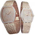 Relojes automáticos mecánicos del diamante del platino del oro de Movemnt 18K del cuarzo suizo para los hombres/las señoras